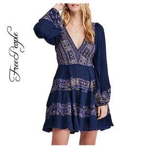 NWT Free People My Love Mini Dress